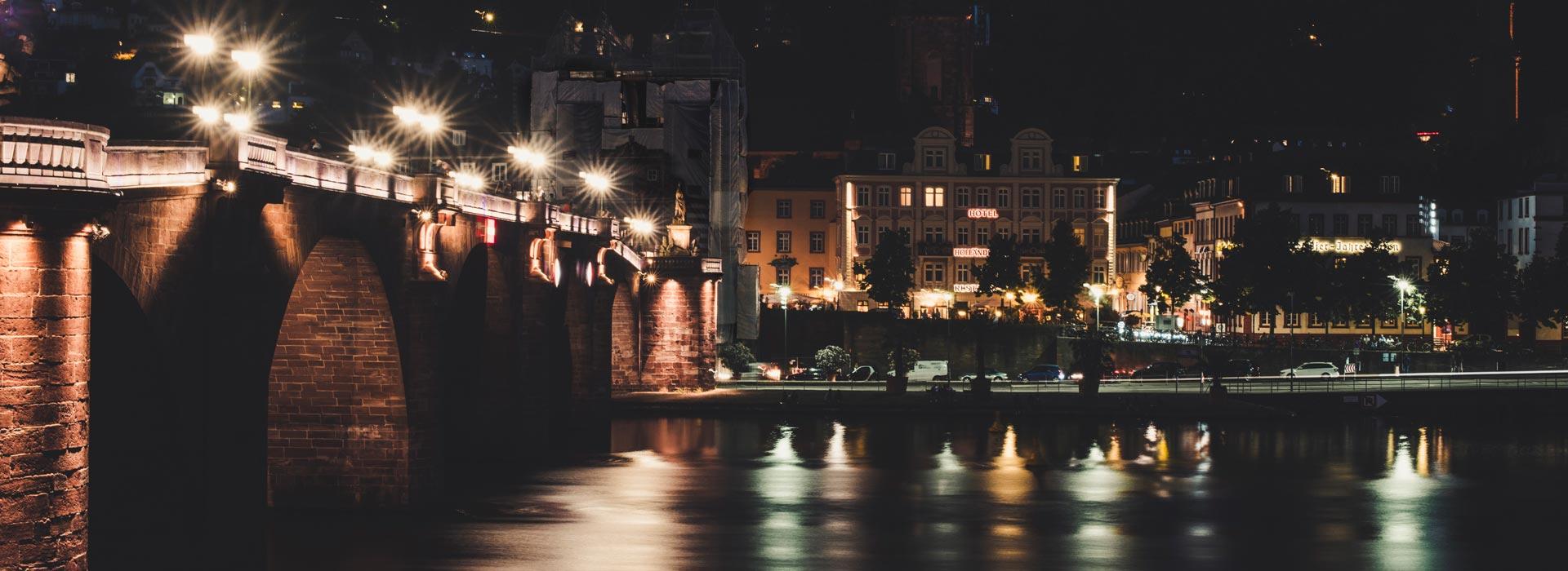 Fotokurs | Heidelberg bei Nacht